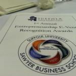 Suffolk University Entrepreneurship E-Vent Recognition Awards